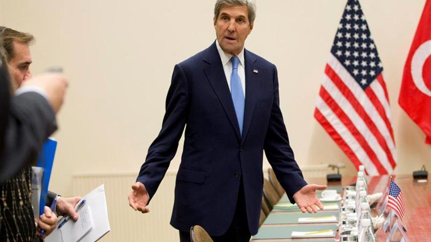 """Kerry pide """"unidad"""" en la OTAN y una Europa """"fuerte"""""""
