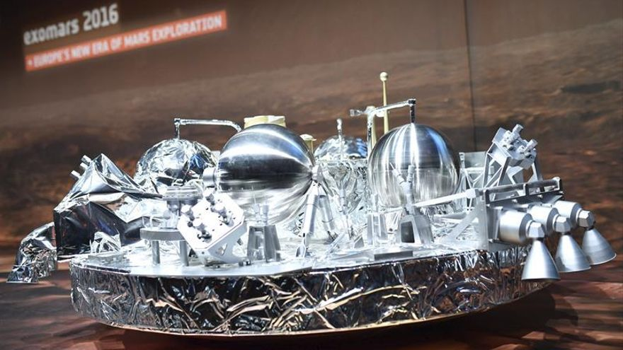 La ESA espera a recibir la señal de que Schiaparelli ha aterrizado en Marte