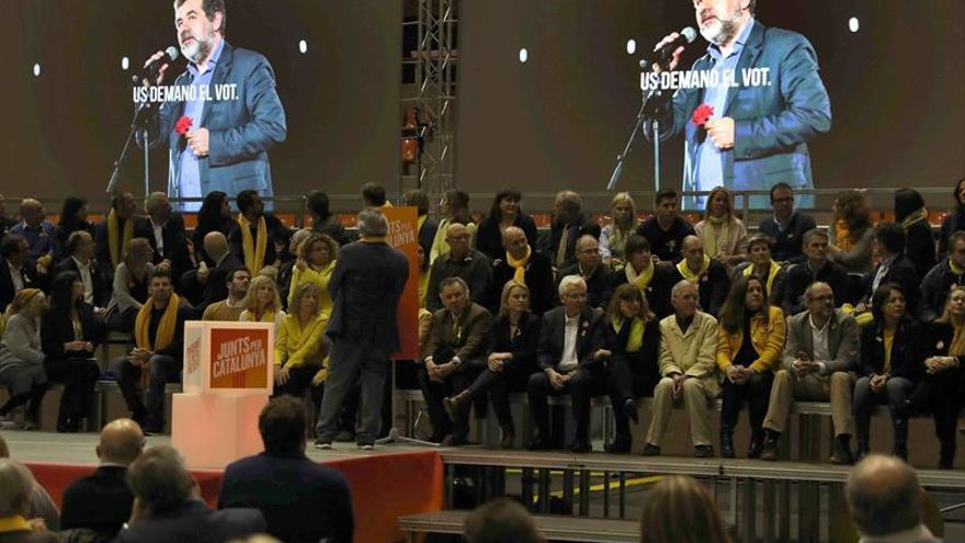 """Sànchez denuncia """"represalias"""" en prisión tras emitirse su mensaje en un acto"""