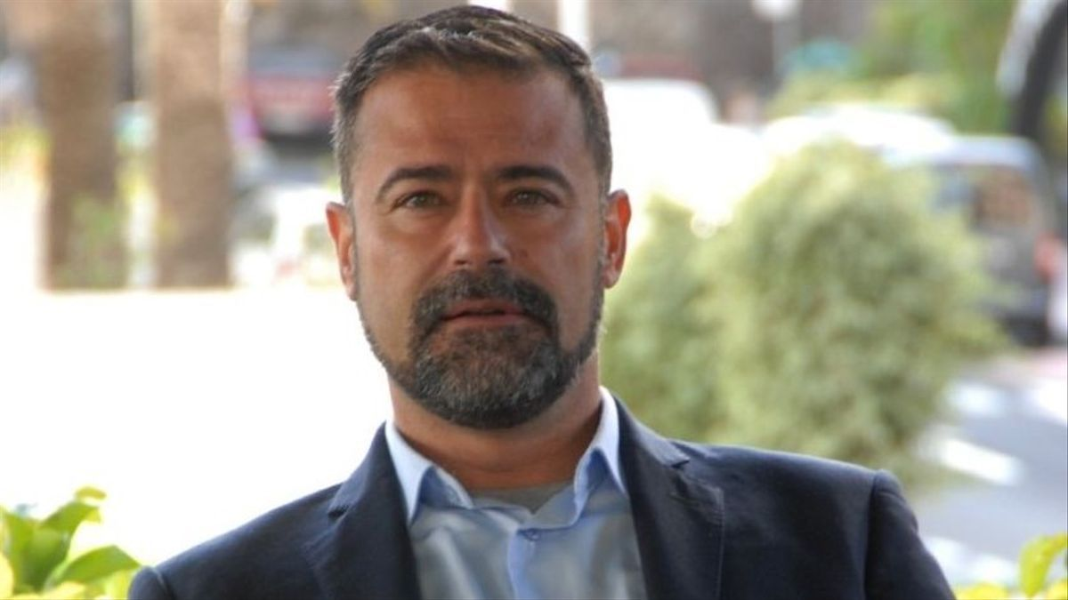 Francisco Montes de Oca,  portavoz de CC en el Ayuntamiento de Los Llanos de Aridane.