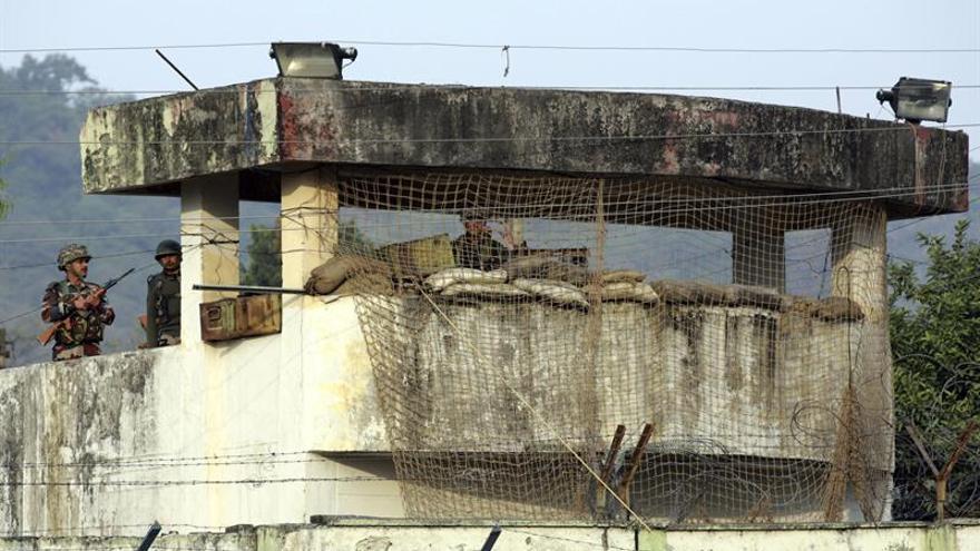 Dos soldados muertos en un enfrentamiento con milicianos cerca de Jammu