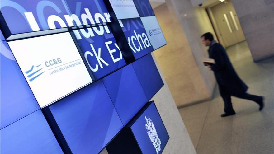 La Bolsa de Londres sube el 0,01 por ciento a media mañana