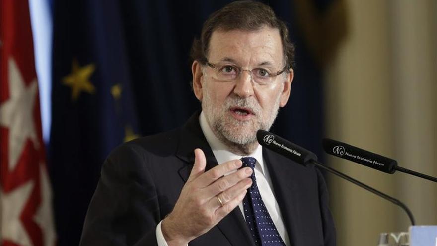 """Rajoy presenta una campaña contra la violencia de género con el lema """"Únete"""""""
