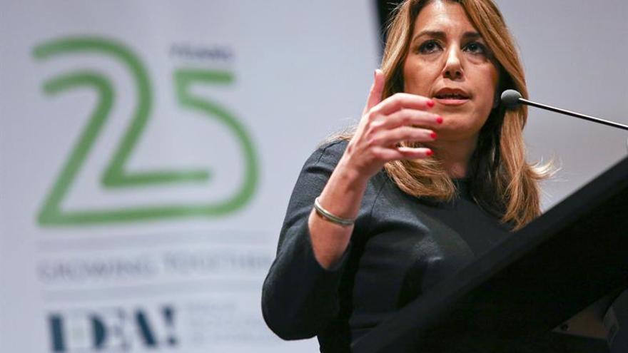 Susana Díaz denuncia la actitud evasiva del Gobierno en la financiación por electoralismo