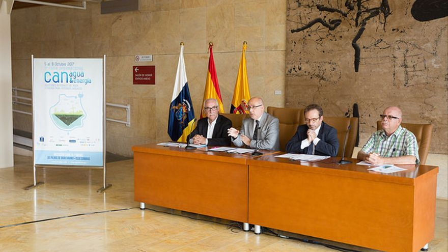 El presidente del Cabildo de Gran Canaria, Antonio Morales, ha celebrado la recuperación de la feria internacional.