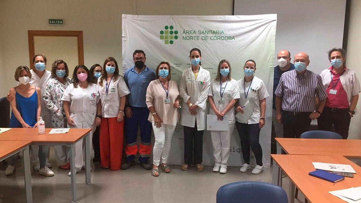 Integrantes de la Comisión de Humanización del Distrito Sanitario Norte de Córdoba.