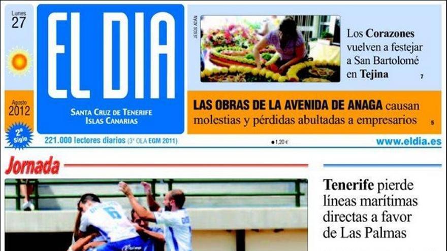 De las portadas del día (27/08/2012) #3