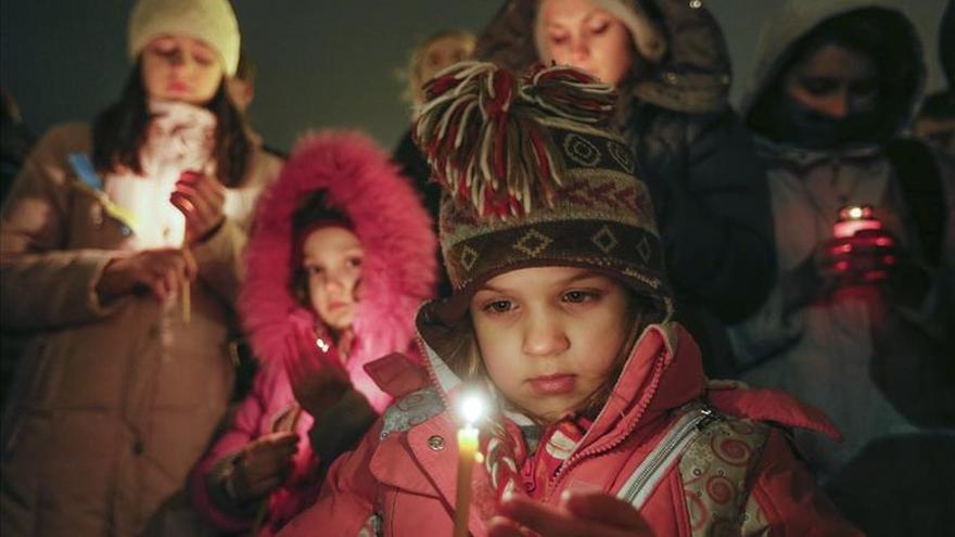 La llegada del frío amenaza a 700.000 niños en el este de Ucrania