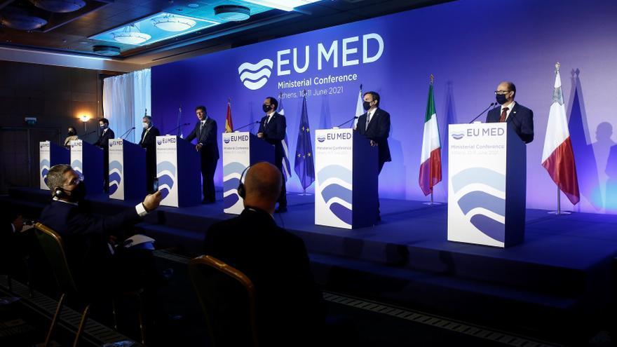 Los países europeos del Mediterráneo mantienen críticas al pacto migratorio