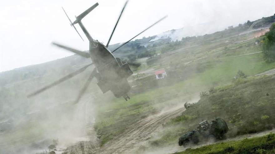 Siete muertos y ocho heridos al estrellarse un helicóptero militar en Turquía