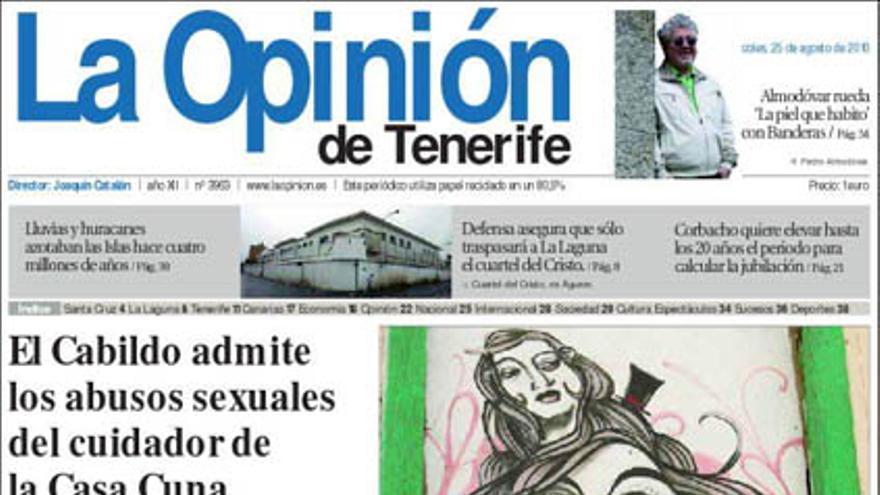 De las portadas del día (25/08/2010) #11