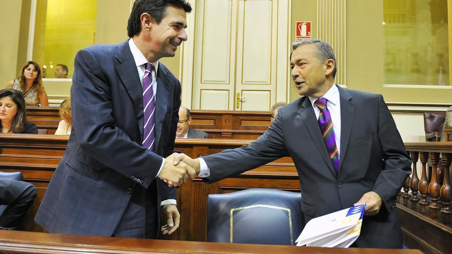 José Manuel Soria y Paulino Rivero