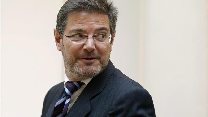 El PP rechaza igualar a la media europea el gasto por habitante en Justicia