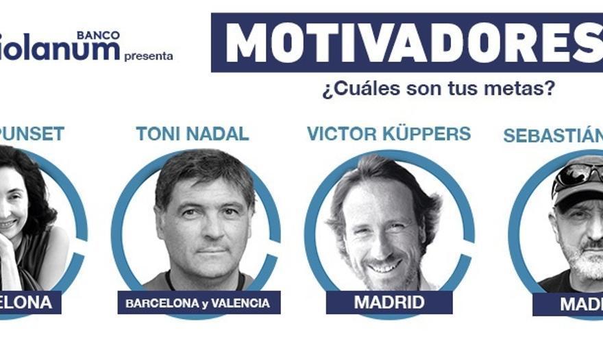 Banco Mediolanum incluirá a Azkuna Zentroa en su ciclo 'Motivadores Tour', que llevará el coaching a los teatros