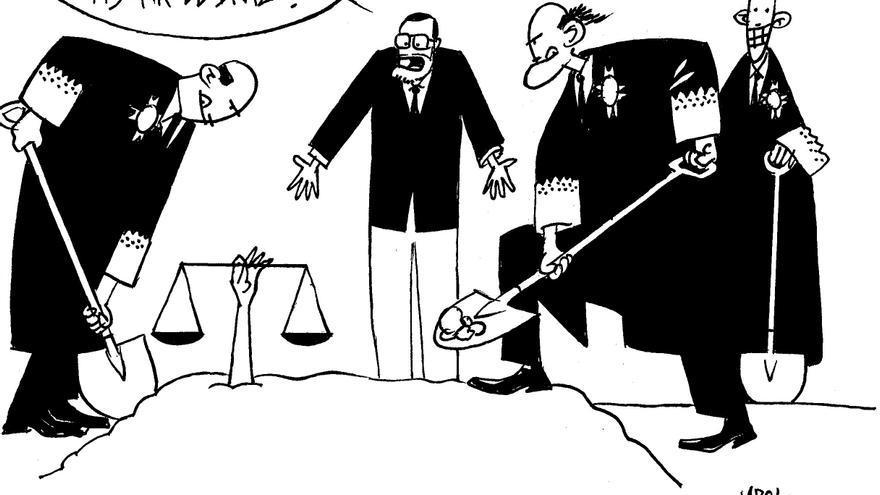 Entierro de la justicia