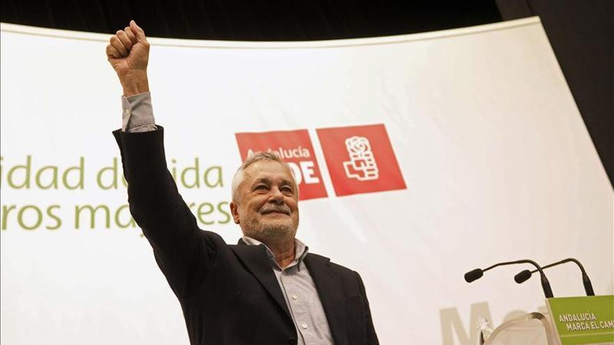 Griñán dice que Andalucía marca el camino para el resto de España