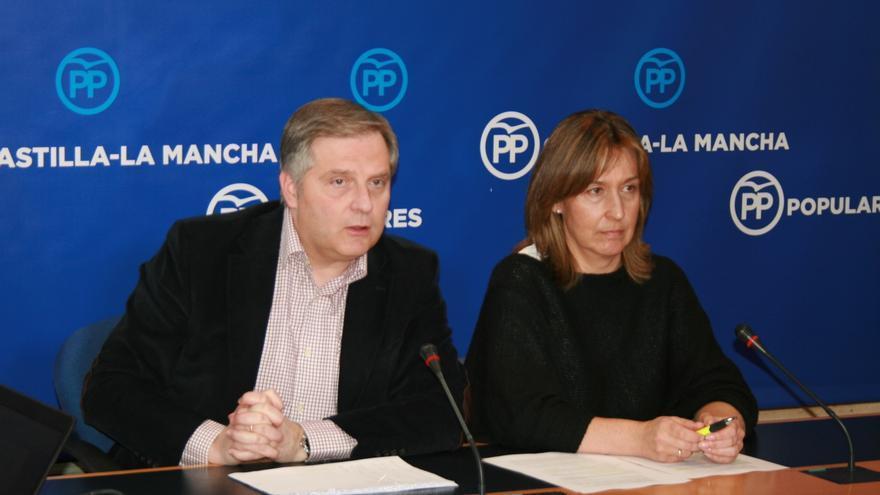 Francisco Cañizares y Ana Guarinos / PP de Castilla-La Mancha