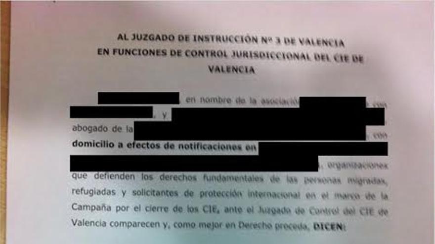 Denuncia interpuesta por CIES NO ante la ineficacia para combatir la plaga de chinches en el centro de Valencia / FOTO: CIES NO
