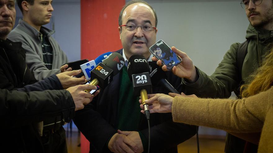 """Iceta pide a Page y Lambán comportarse con """"respeto"""" aunque mantengan discrepancias políticas con la negociación con ERC"""