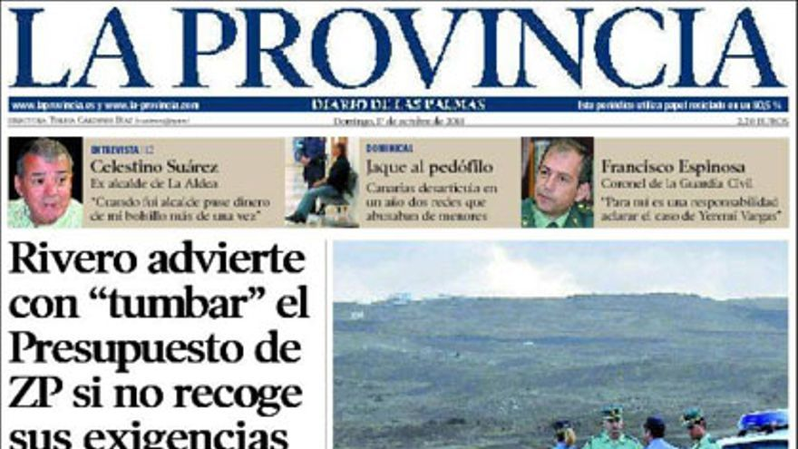 De las portadas del día (17/10/2010) #7