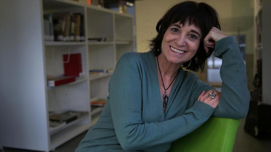 El escritora Rosa Montero acaba de publicar 'La carne'.   ALEJANDRO RUESGA