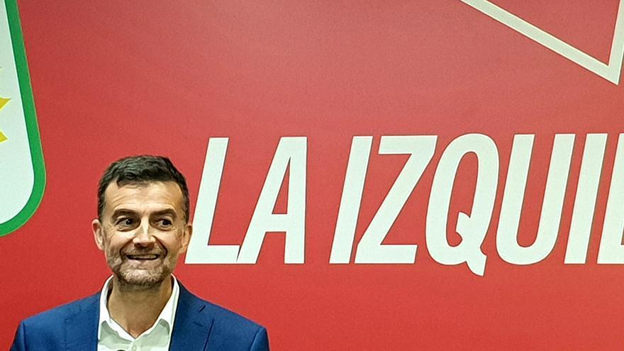 Antonio Maíllo anuncia su dimisión.