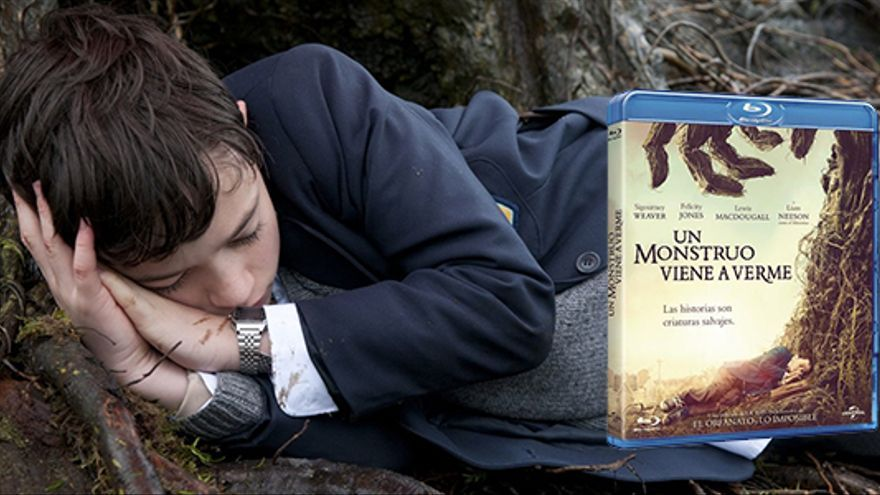 Edición especial en Blu-Ray de 'Un monstruo viene a verme'