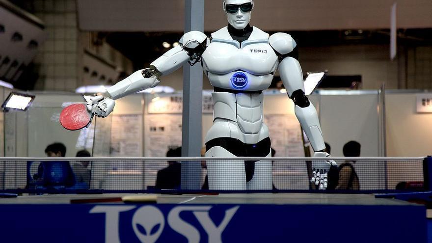 El robot humanoide Topio