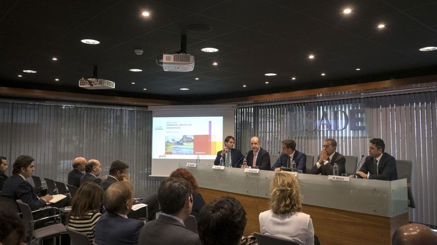 El consejero de Economía, Industria, Comercio y Conocimiento del Gobierno de Canarias, Pedro Ortega.