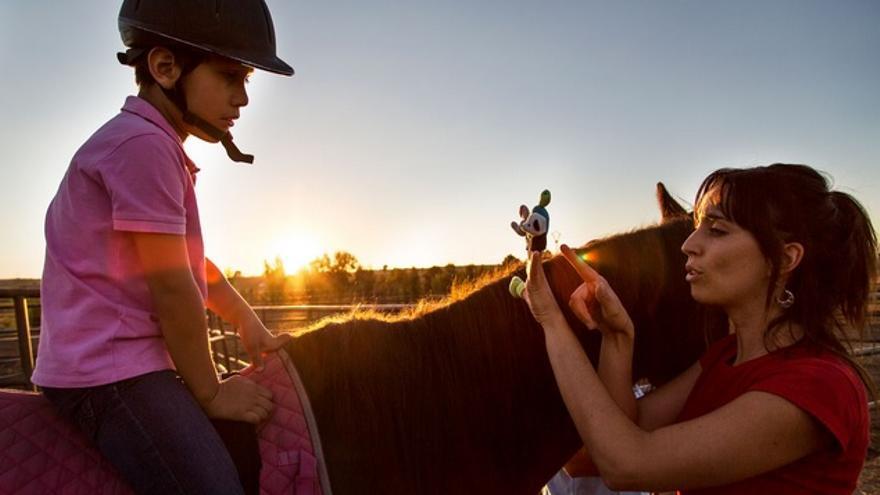 Terapia con caballos / Asociación de Zooterapia de Extremadura