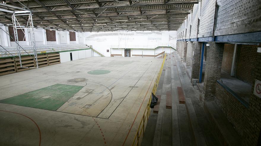 Interior del Polideportivo de la Juventud.
