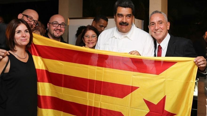"""Pascal (PDeCAT) cree que una foto de Maduro con la 'estelada' no suma y es """"no entender nada"""""""