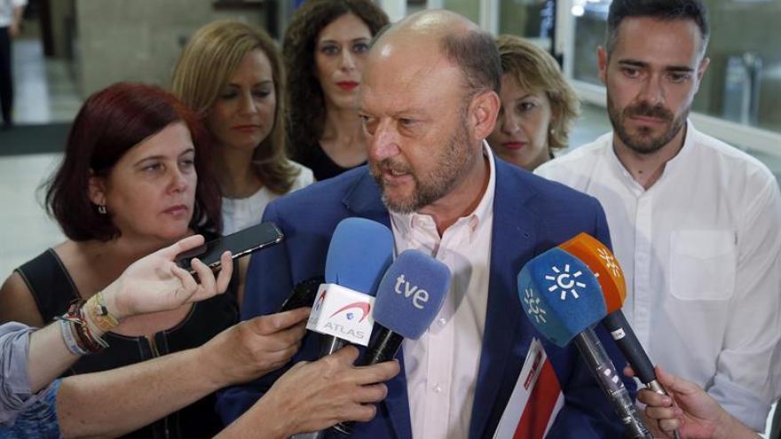 """A.Pradas:El PSOE andaluz no está """"en este momento"""" en pedir un Comité Federal"""