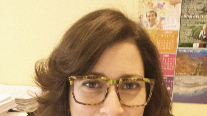 Dunia Hernández, coordinadora del grupo local de Ciudadanos (Cs) en Mogán