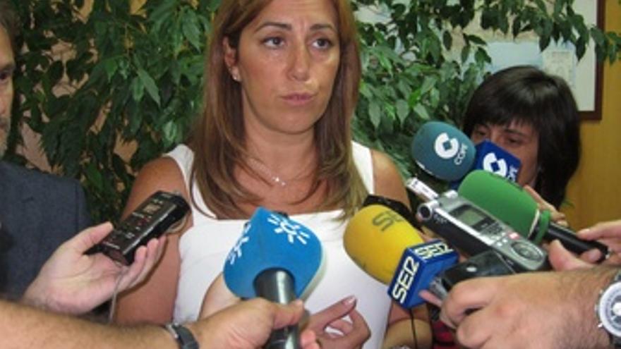 La consejera de Presidencia e Igualdad, Susana Díaz.