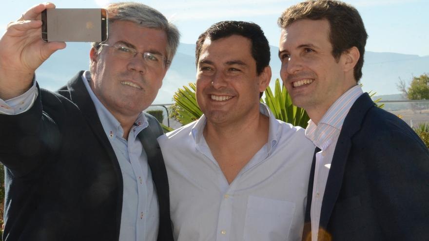 """Moreno (PP-A) reclama """"dimisiones en cadena"""" en la Junta por dejar de gastar 800 millones de euros en formación"""