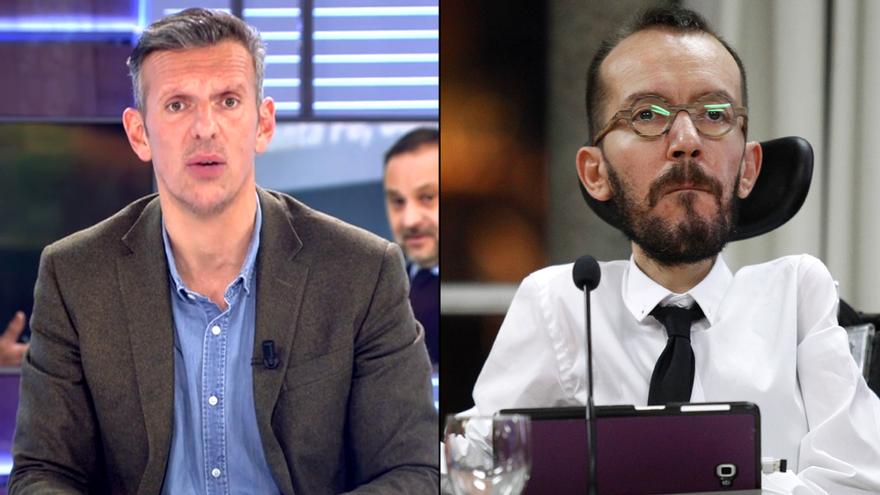 Joaquín Prat pide disculpas a Pablo Echenique en 'Cuatro al día'