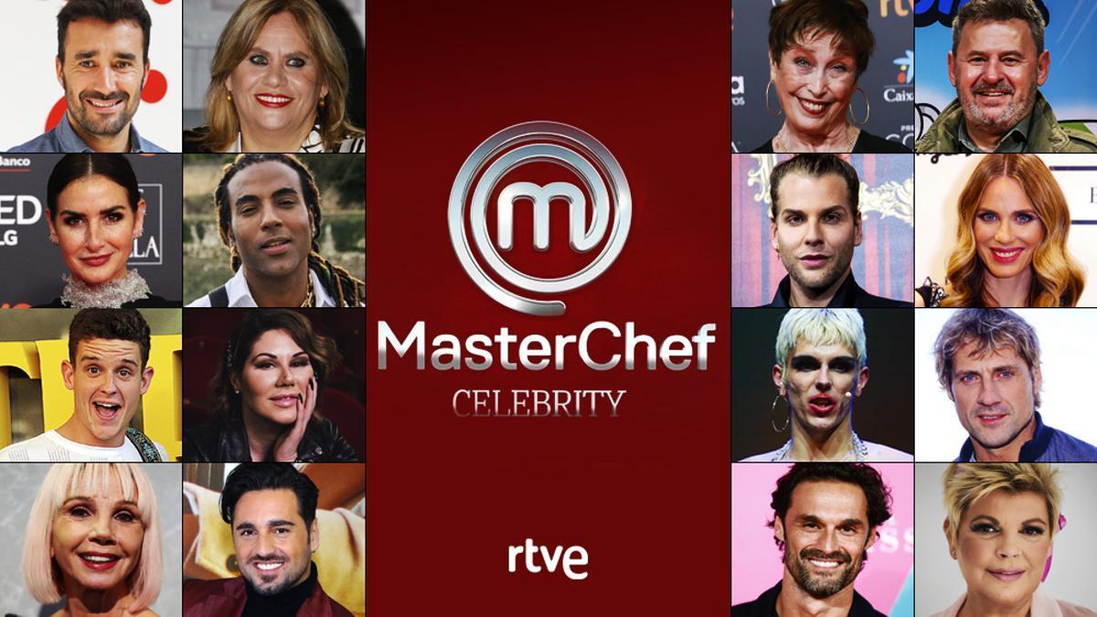 Concursantes de 'MasterChef Celebrity 6'