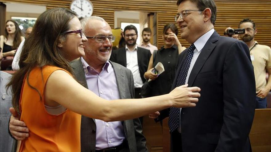 Ximo Puig promete hoy el cargo de presidente de la Generalitat valenciana