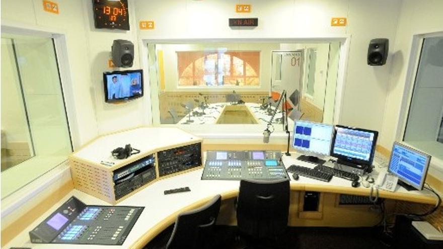Estudio de radio de Canarias Radio la Autonómica (RTVC.ES)