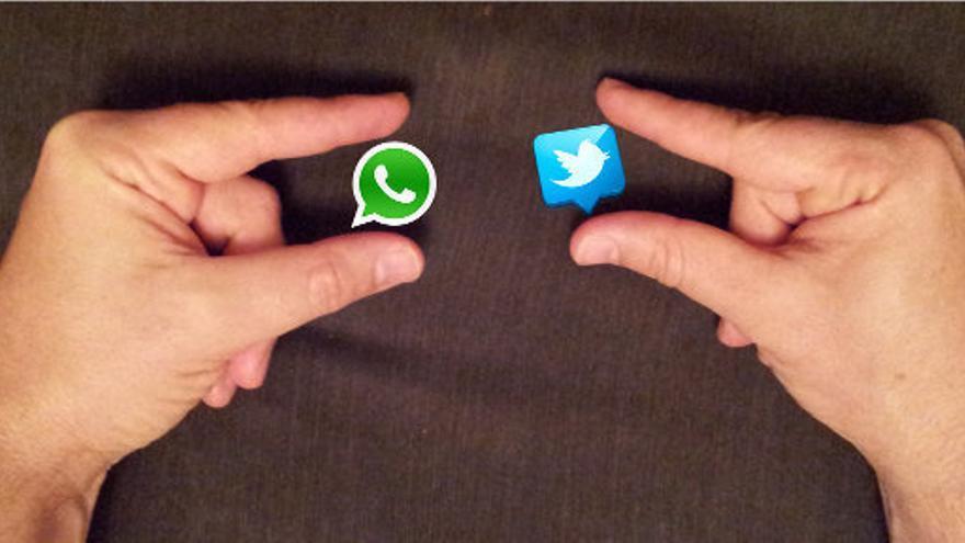 WhatsApp, entre la competencia de Facebook y Twitter para dar visitas