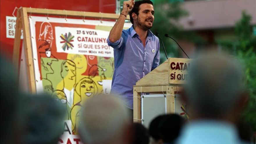 """Garzón apuesta por buscar """"los puntos en común"""" con Podemos"""