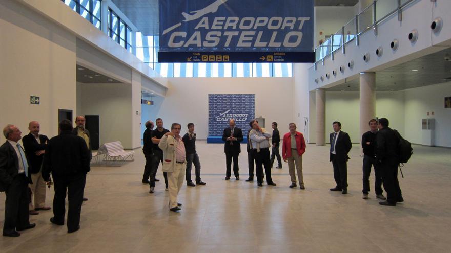 Terminal del aeropuerto de Castellón, inaugurado oficialmente en 2011