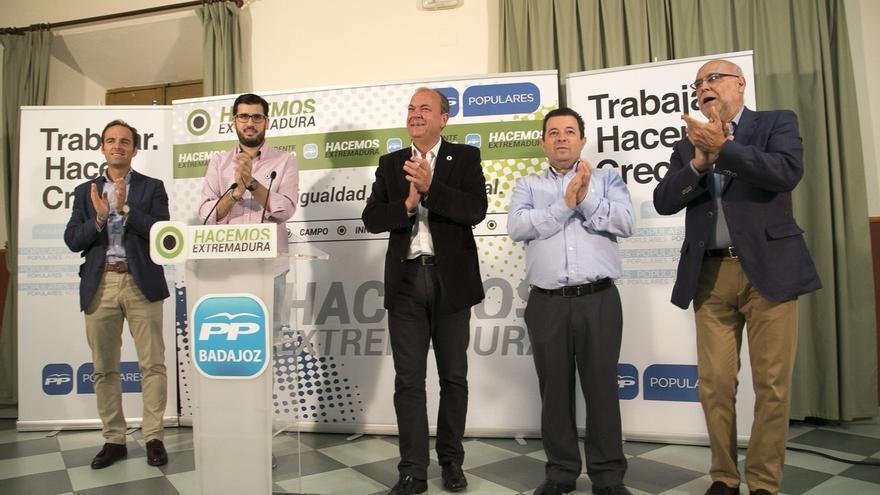 """Monago destaca que quiere que el presidente de Extremadura """"salga de las urnas y no de una calculadora"""""""