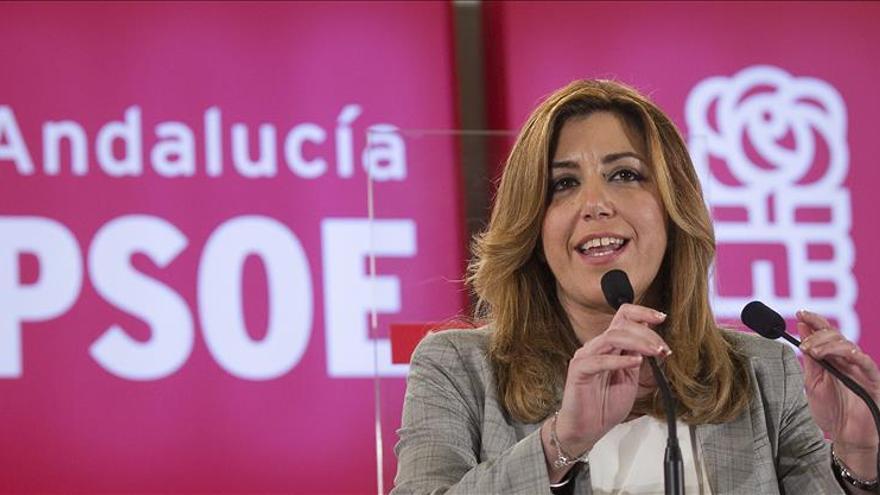 """Susana Díaz dice que """"el secreto del PSOE de Andalucía es la unidad"""""""