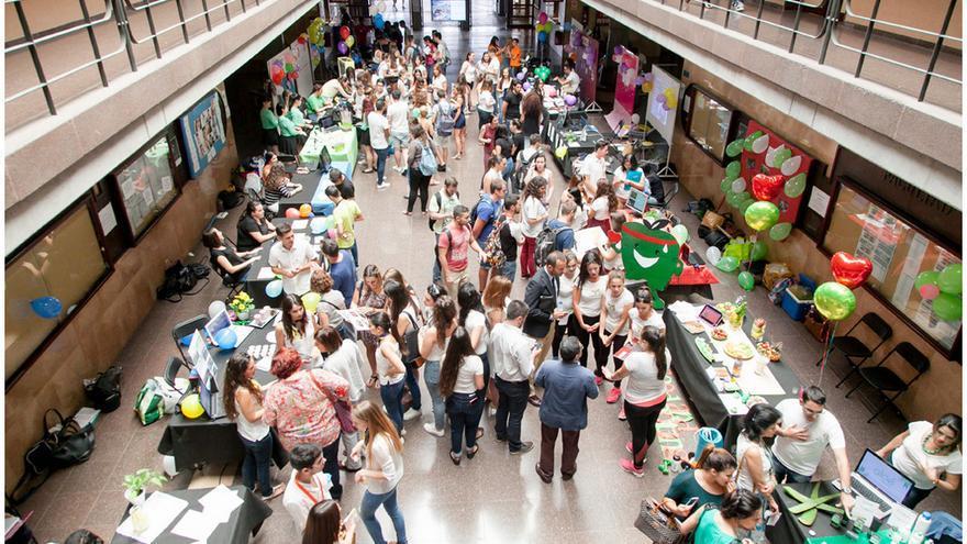 Feria del talento emprendedor en la Universidad de La Laquna / Emeterio Suárez