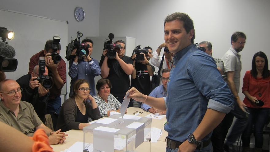 """Rivera (C's) llama a votar para cambiar las cosas: """"Tenemos el poder en nuestras manos"""""""