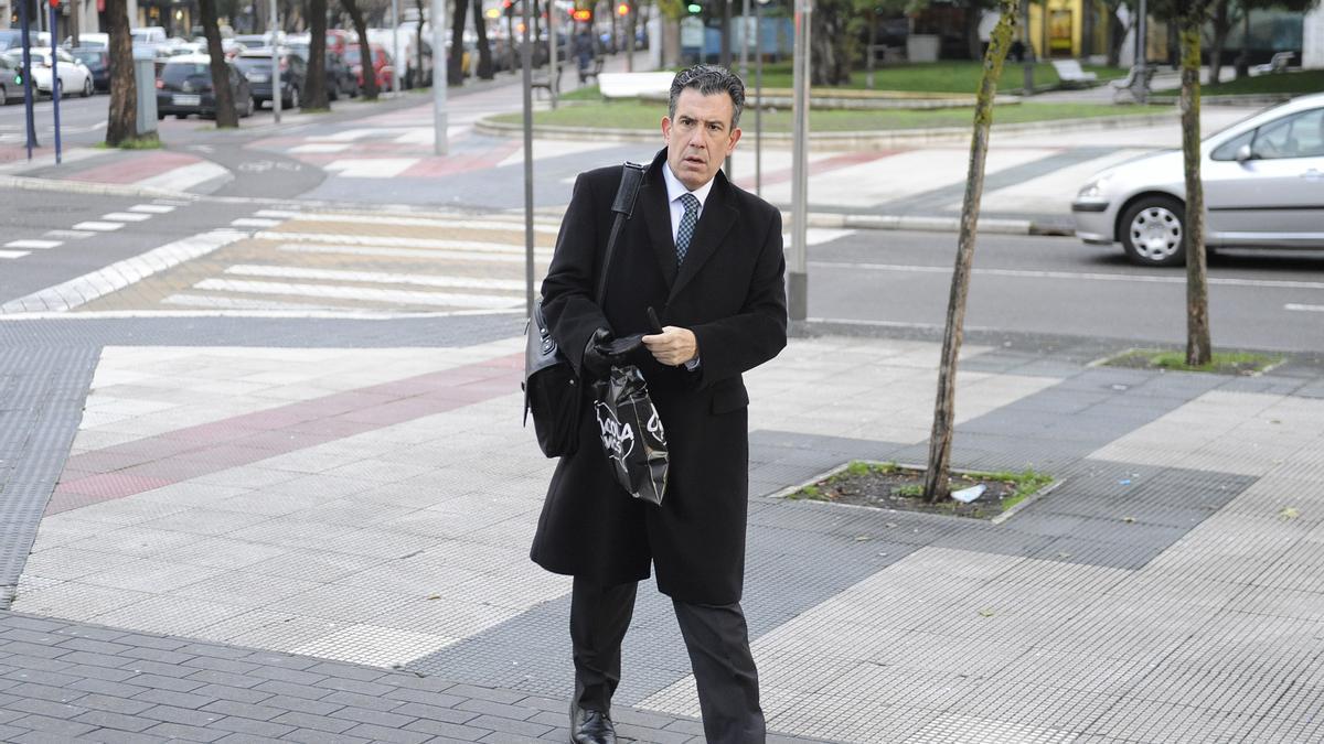 El fiscal Josu Izaguirre
