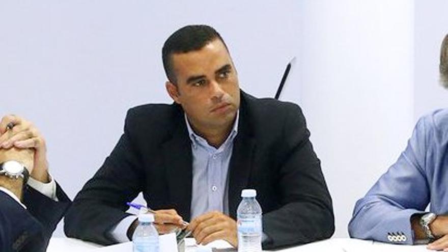 El viceconsejero del Sector Primario del Gobierno de Canarias, Abel Morales.