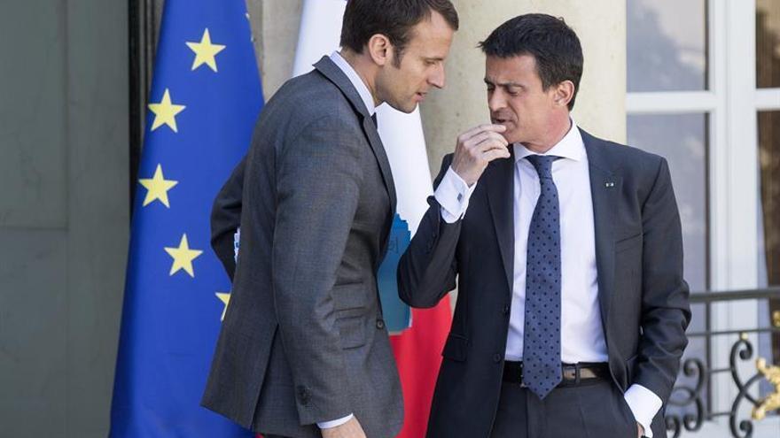 Valls votará por Macron para evitar la victoria de Le Pen en Francia